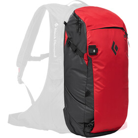 Black Diamond JetForce Pro Booster Selkäreppu 35l, red